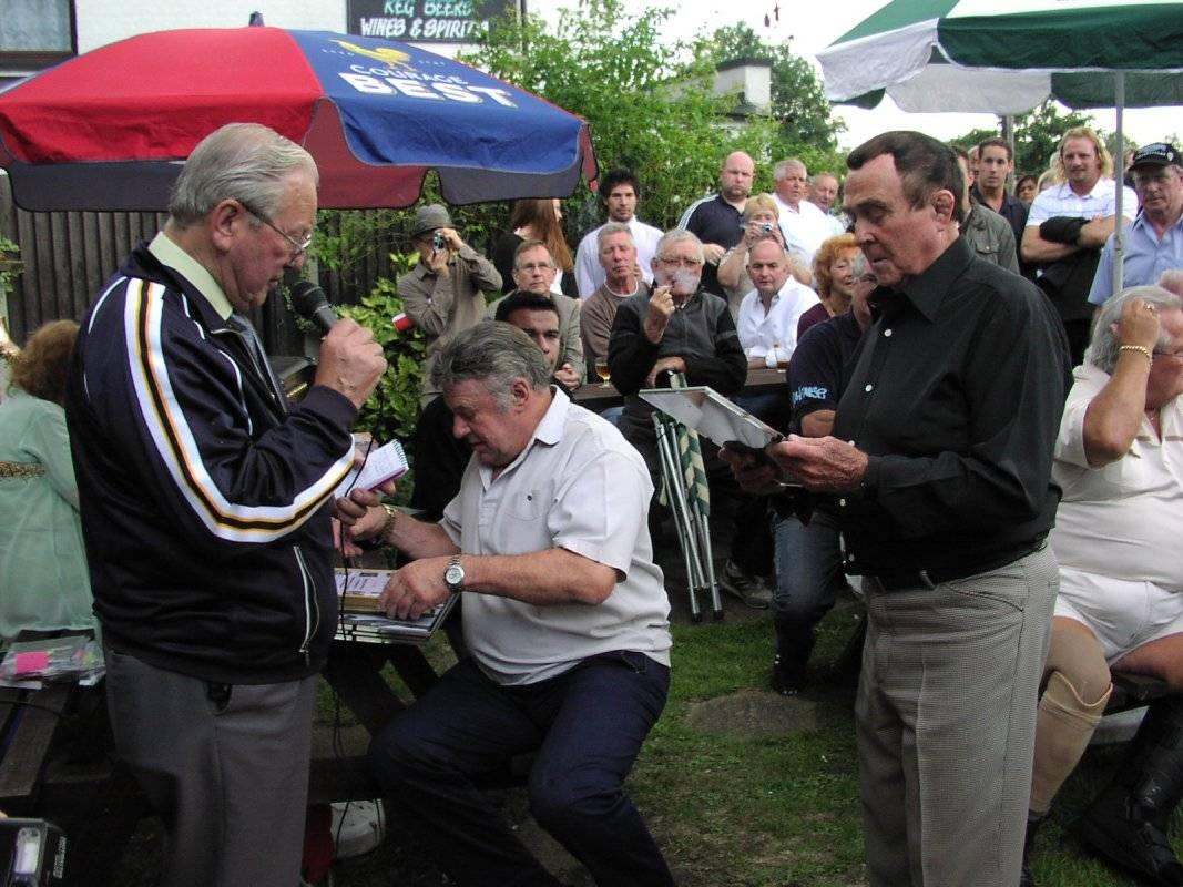 Peter Baines, Wayne Bridges, Mick McManus
