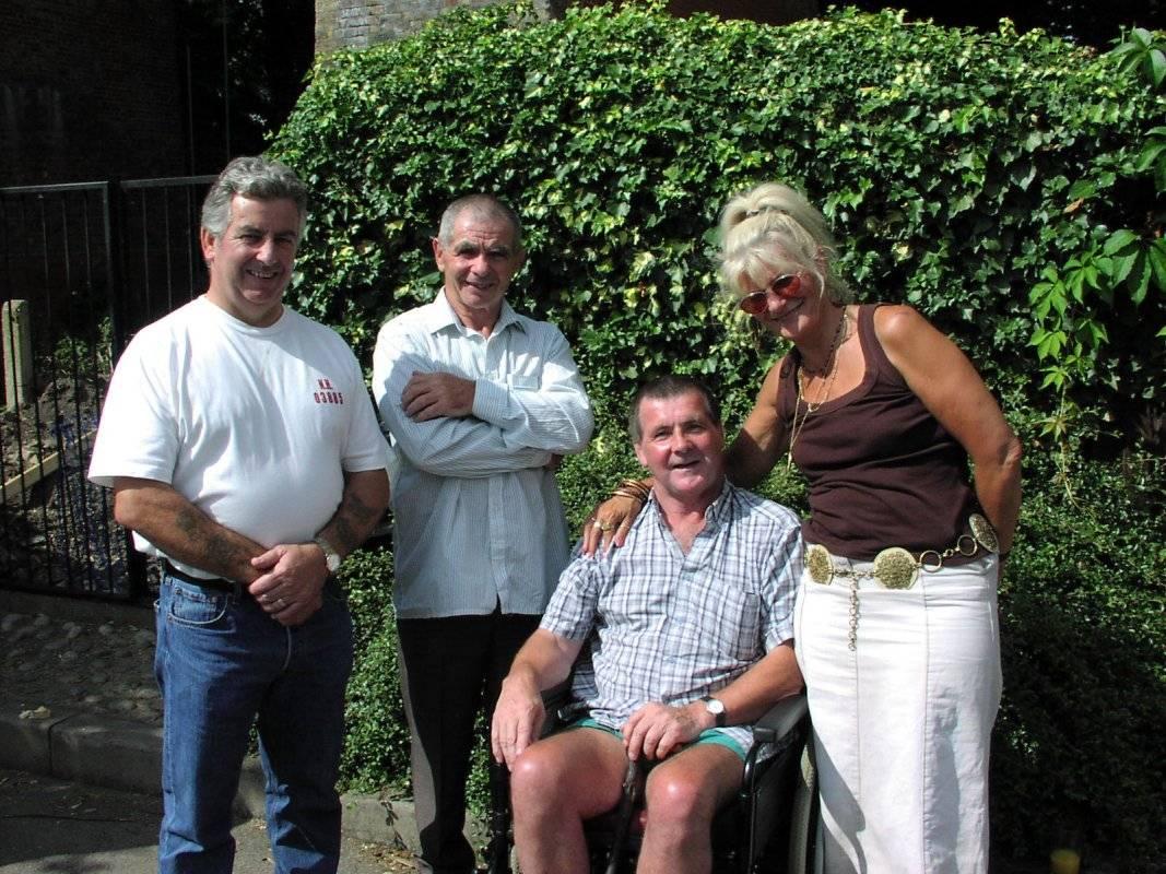Tony White, Jim and Tim Fitzmaurice,Joe