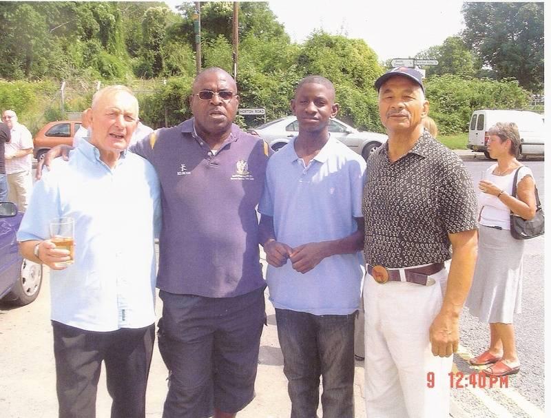 John Hall, Dave Bond, Lennie Hurst