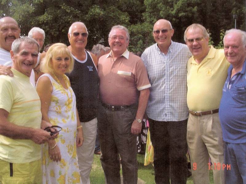 JimmyFitzmaurice,Karl Heinz,Marilyn Benjamin,Romany Riley,Roy St Clair,Lee Bronson, Banger Walsh and Ted Fretwell.