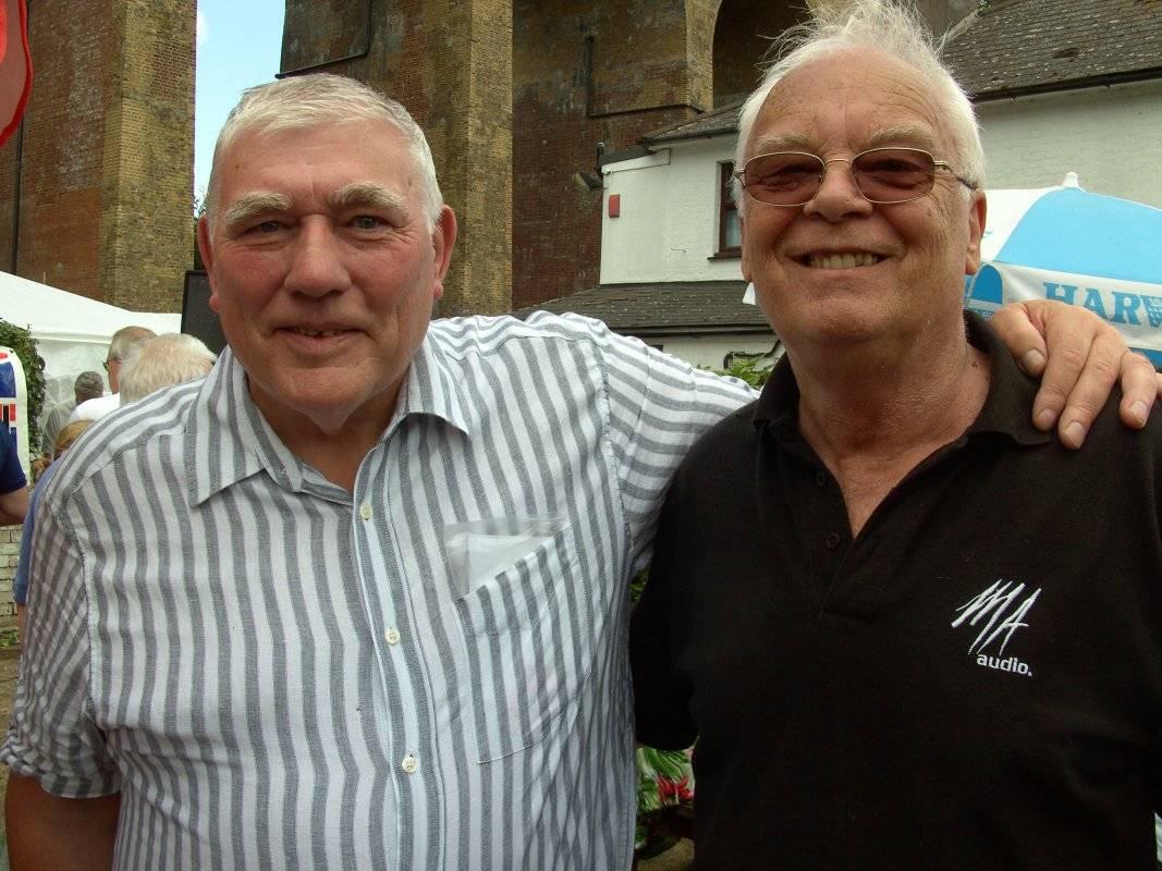 John Cox and Jim Howard