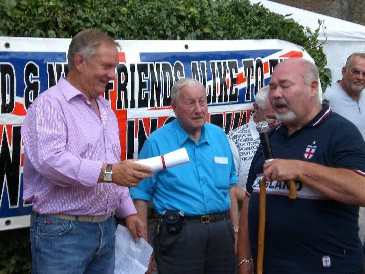 Frank Rimer, Peter Baines, Rex Strong