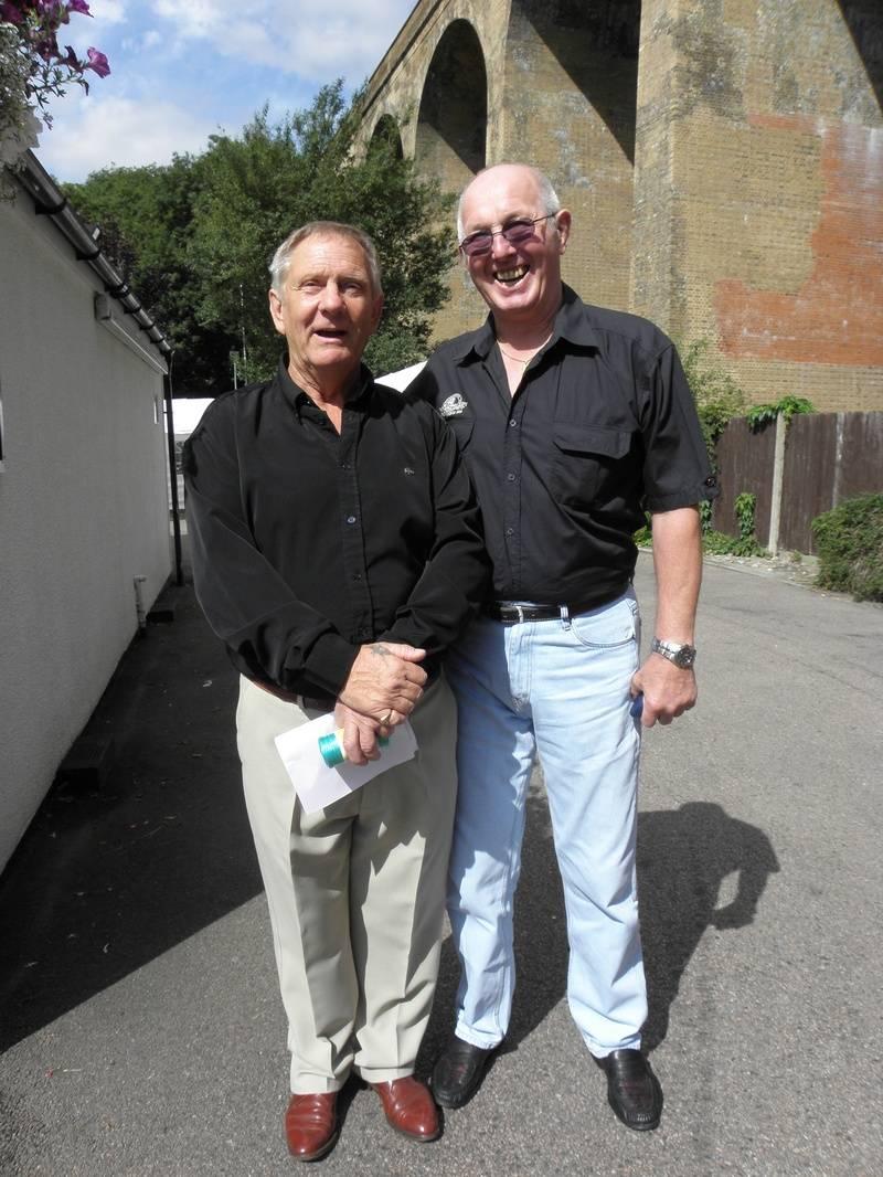Frank Rimer and Tony St. Clair