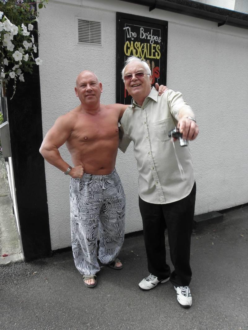 Johnny England and Jim Howard
