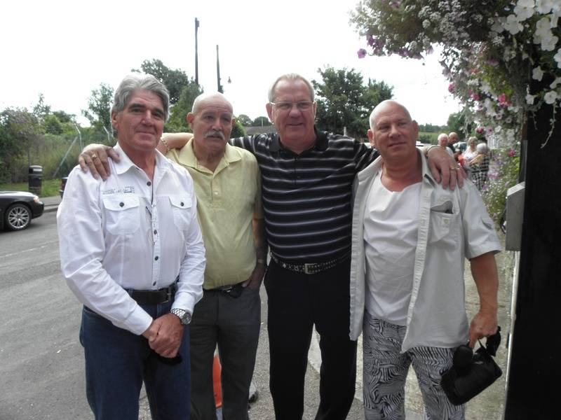 Mark Rollerball Rocco, Jackie Turpin,Banger Walsh,Johnny England