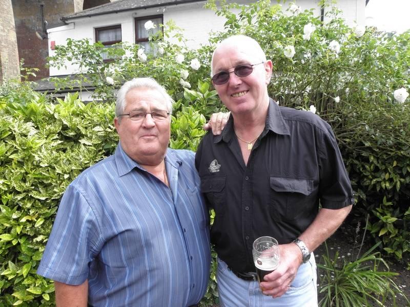 Colin Joynson and Tony St. Clair