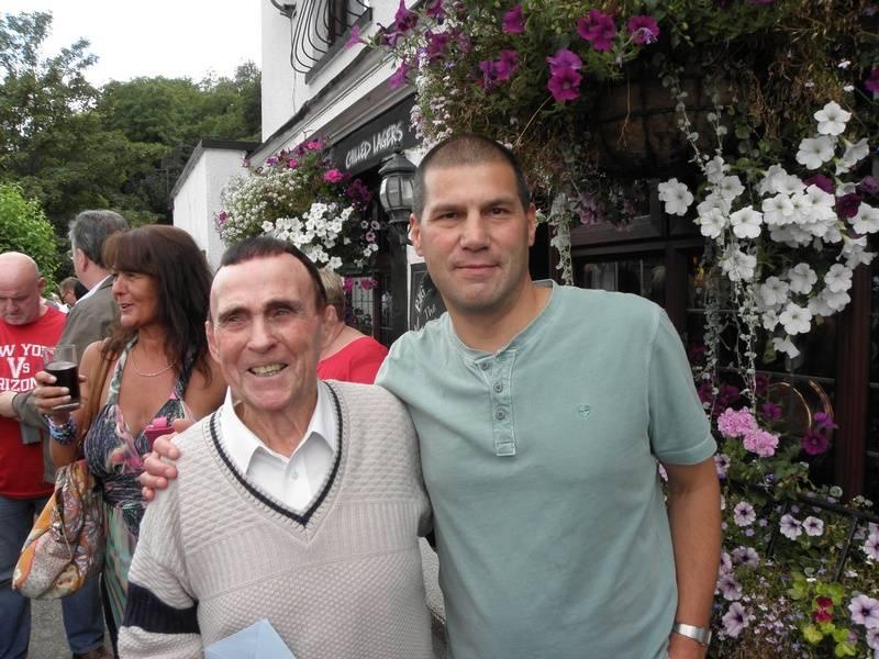 Mick McManus and Johnny Kidd