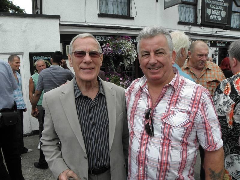 Bobby Barnes and Tony Titch White