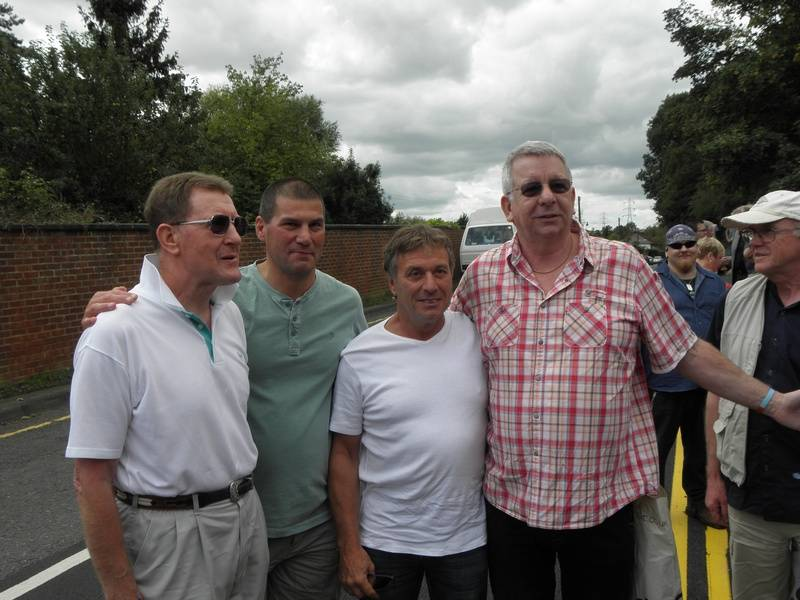 Pete Roberts, Johnny Kidd, Steve Grey, Neil Sands
