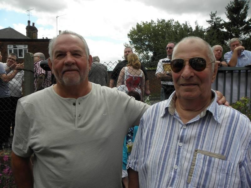 Tony Bates and Alan Kitto