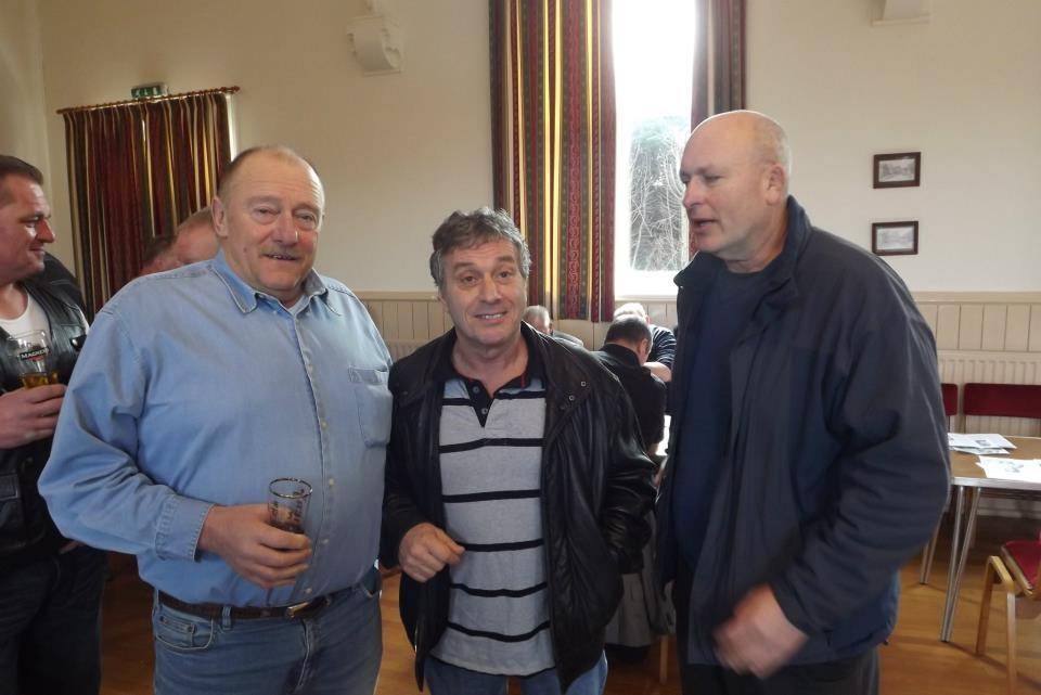 Dick Harrison, Steve Grey,Lee Bronson