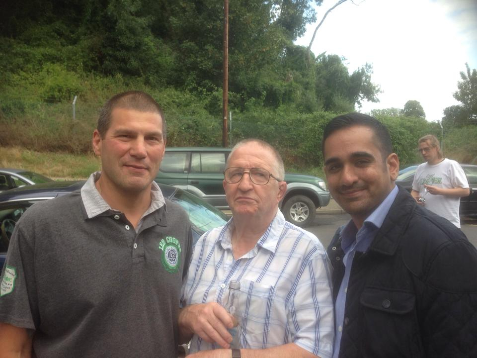 Johnny Kidd, Sid Cooper and Sanjay Bagga