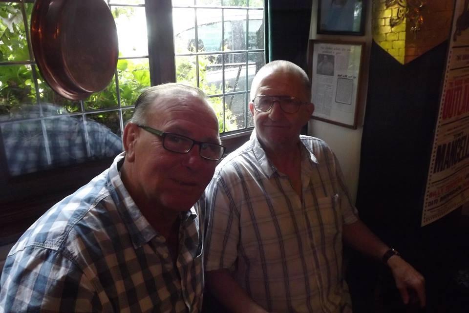 Marty Jones and Sid Cooper