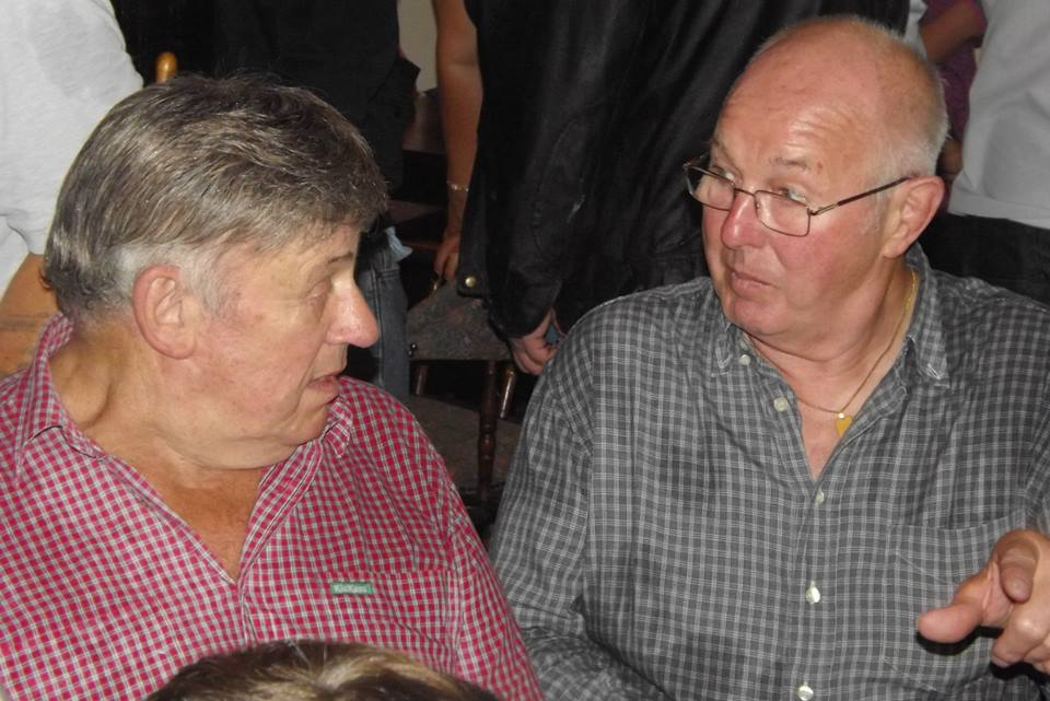 Wayne Bridges and Tony St Clair