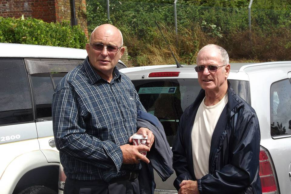 Lee Bronson and Johnny Saint