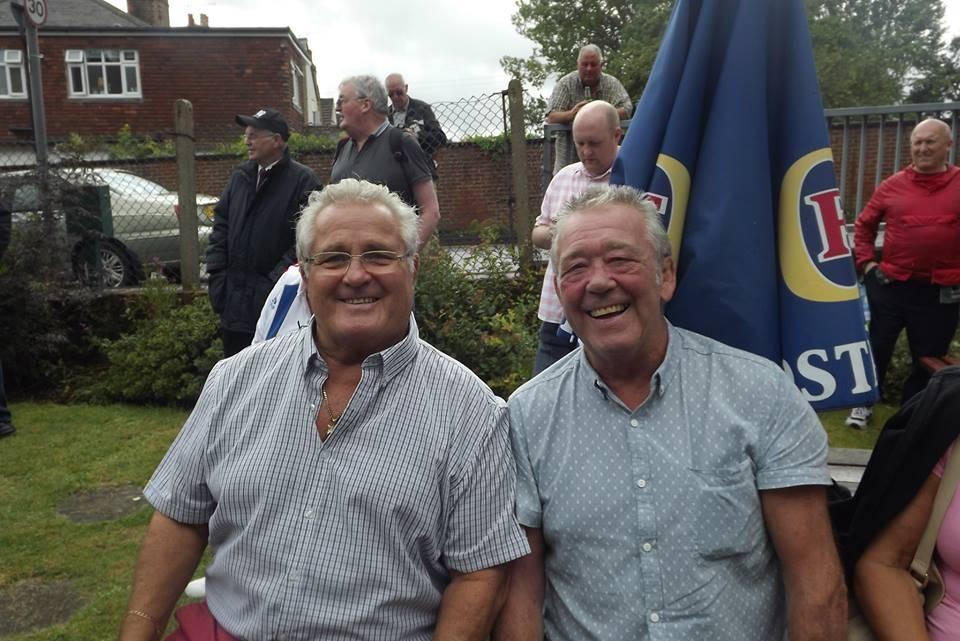 Colin Joynson and Roy St. Clair