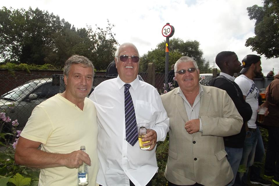 Steve grey, Basil ( Romany) Riley and Chris Riley