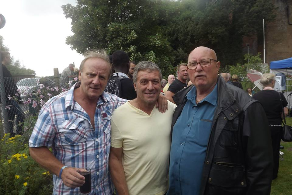 Mal Sanders, Steve Grey, Mal Stuart