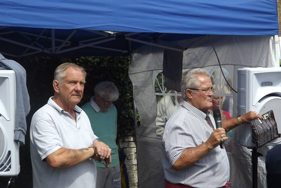 Frank Rimer and Colin Joynson