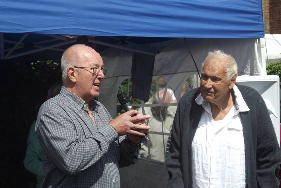 Rene Lasartesser and Tony St Clair