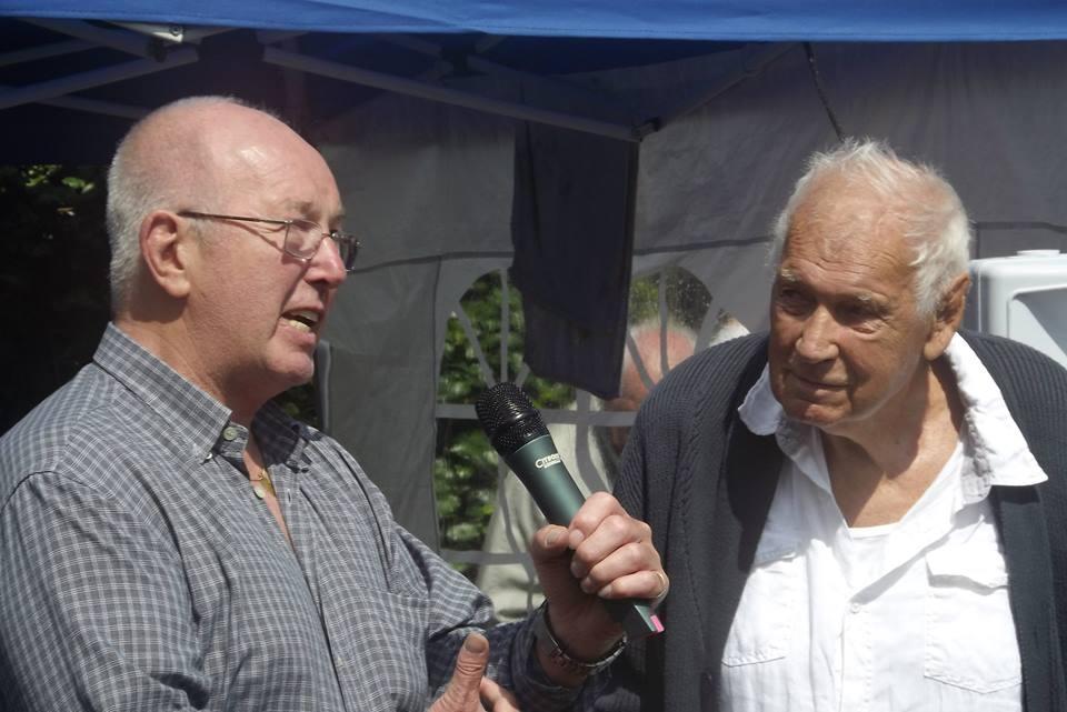 Tony St Clair and Rene Lasartesse