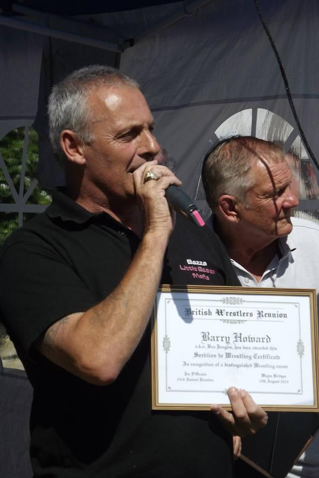 Barry Howard a.k.a Baz Jangles