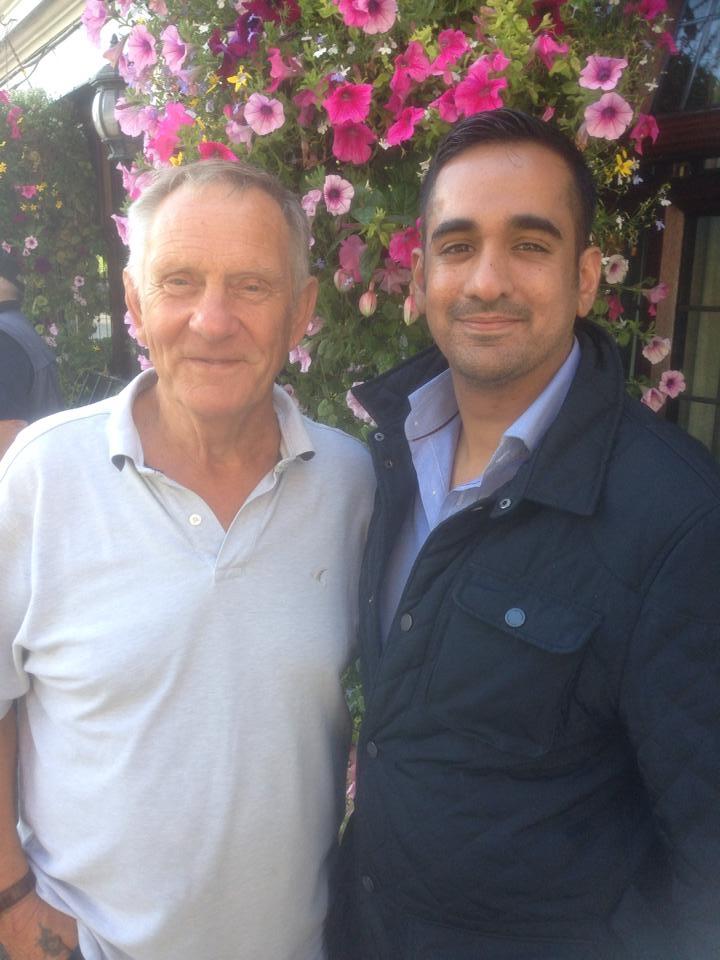 Frank Rimer and Sanjay Bagga