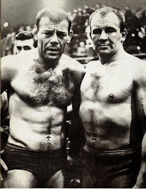 Tibor Szakacs and Joe Zaranoff