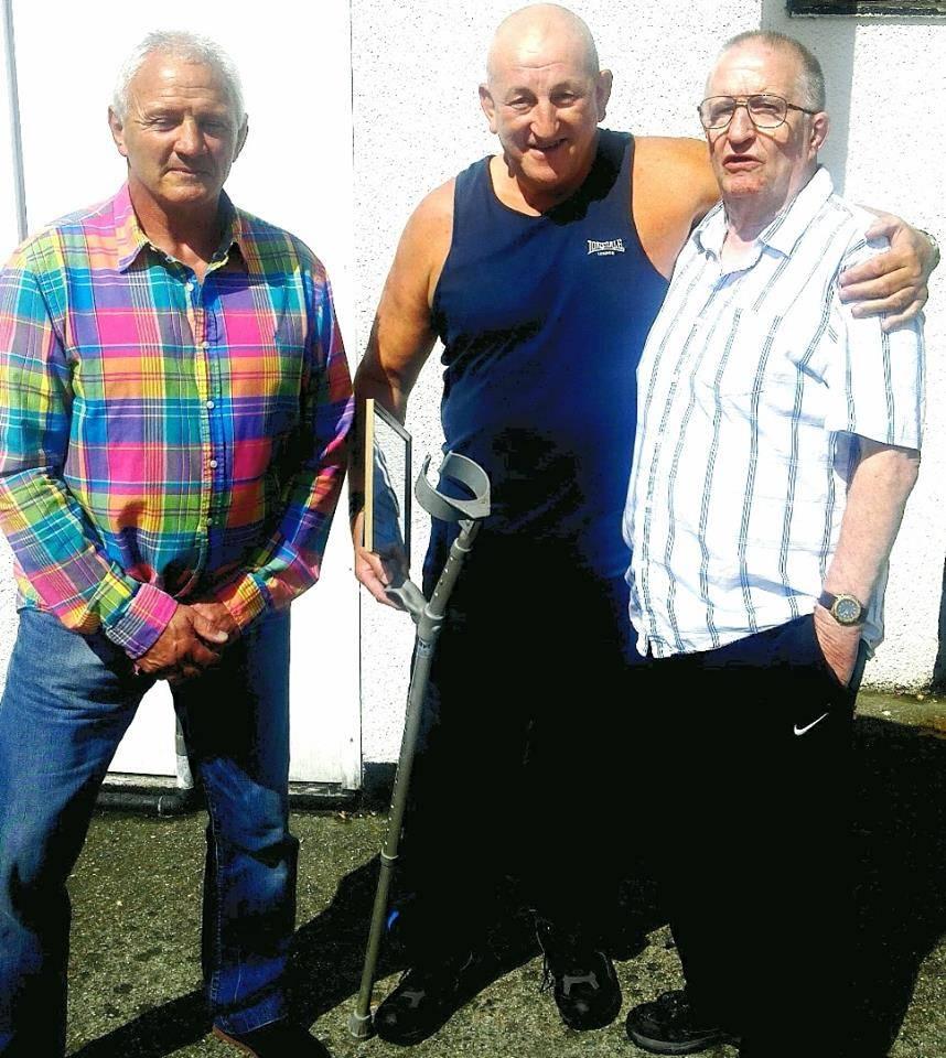 Keith Haward, Ray Robinson & Sid Cooper