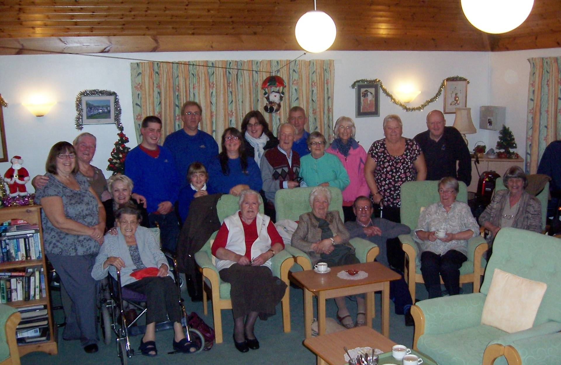Carols with the residents of Ceres Court