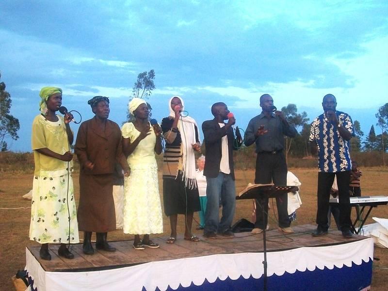 The worship team