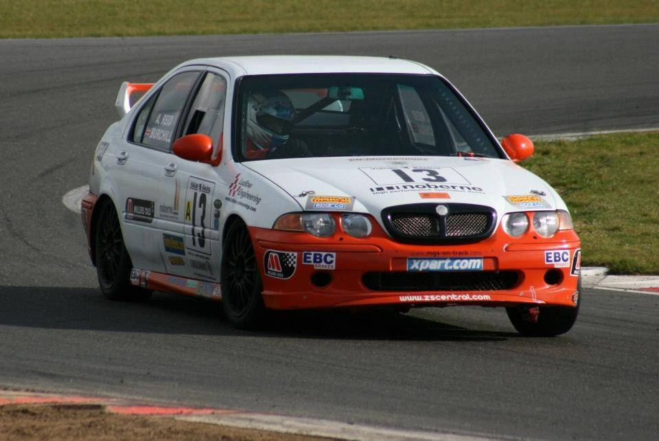 MGZS V6 Race Car