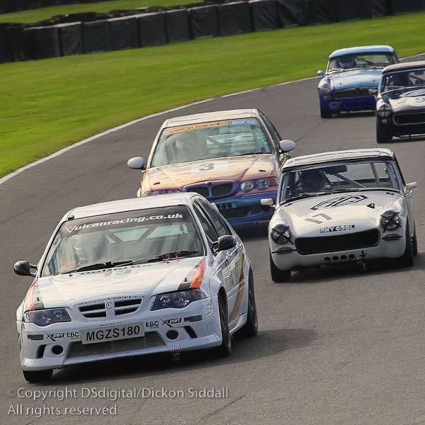 MGZS V6 Race Car Peter Burchill  Vulcan Racing MG Car Club Cockshoot Cup
