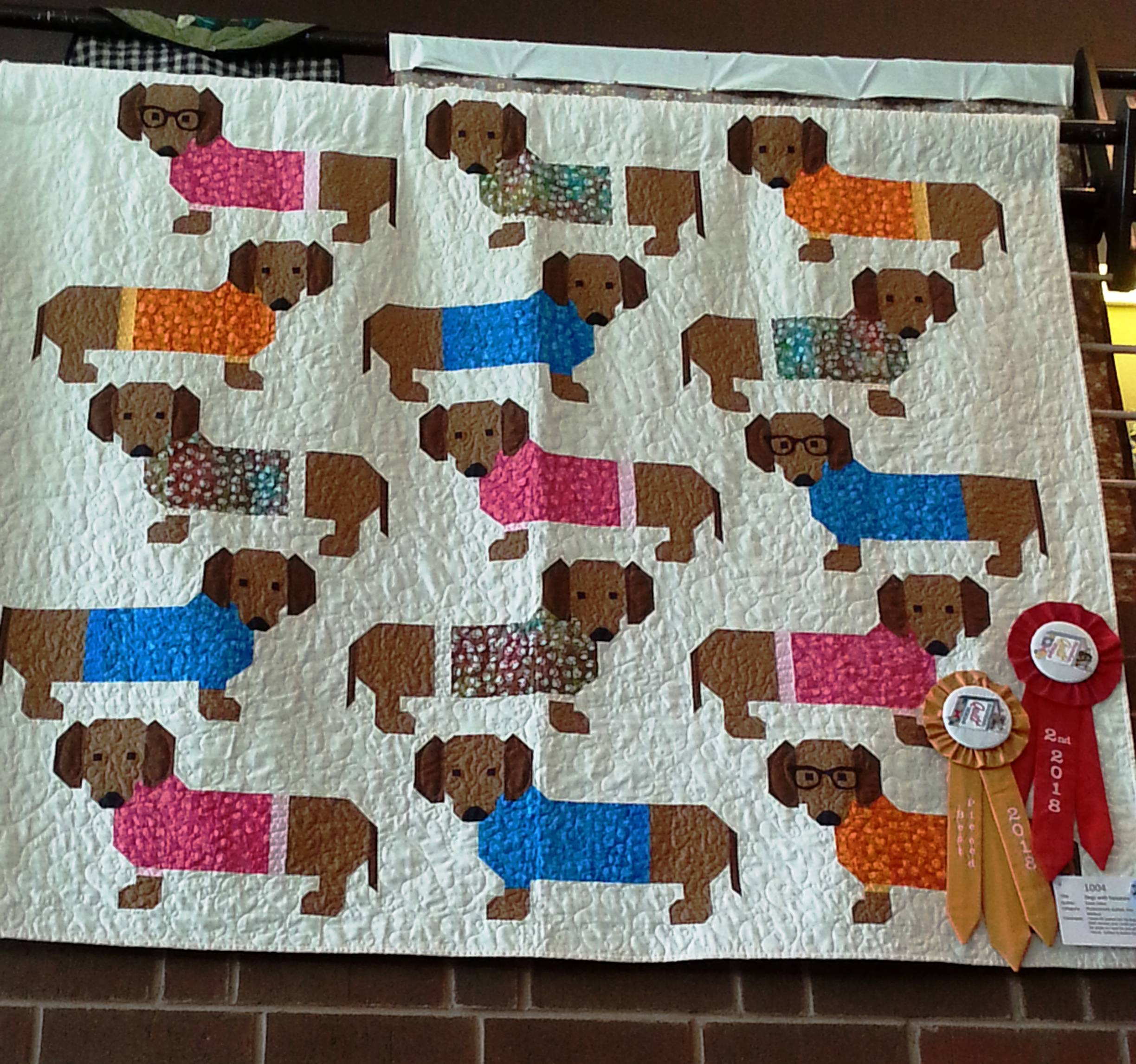 Best Pieced and 2nd Place - Professionally Quilted