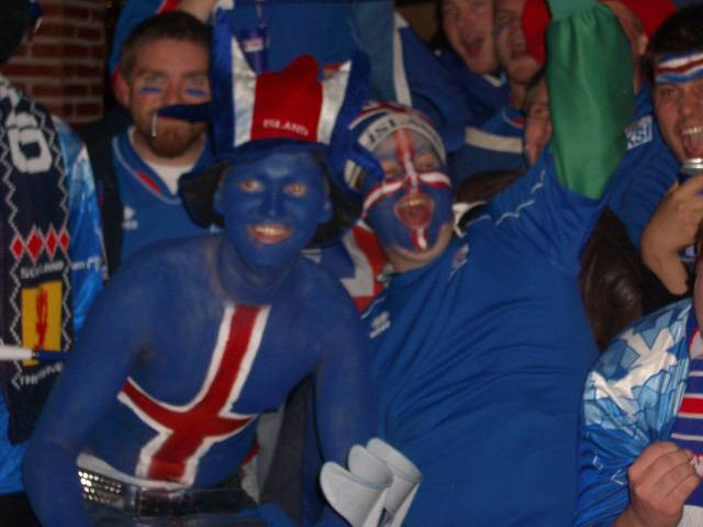 Smurfs in Iceland?!