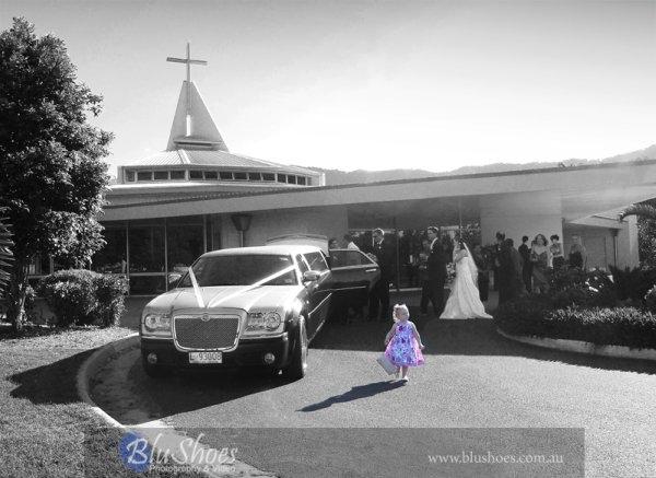 Wedding limo photos