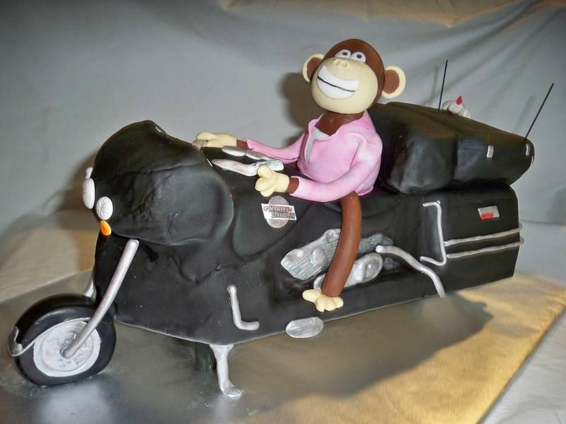 Monkey on a Harley