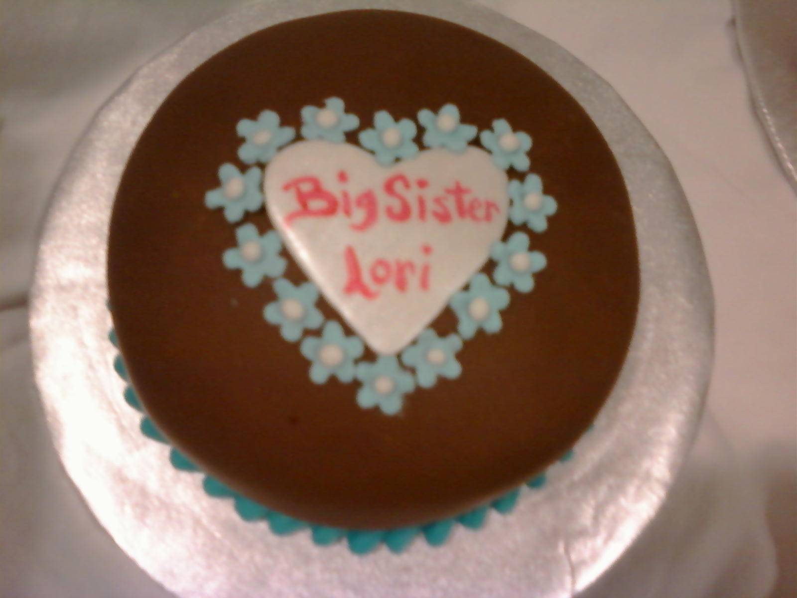 big sister cake
