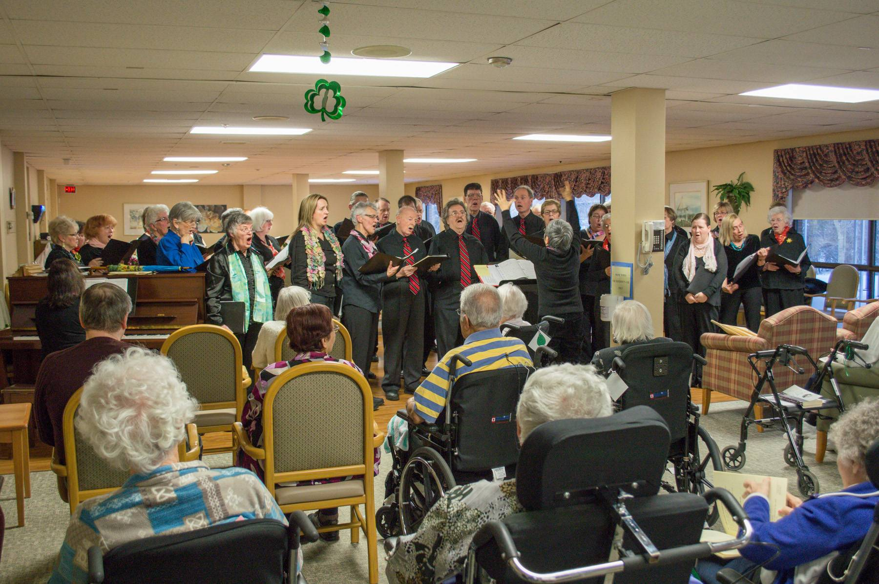 Choir at Extendicare