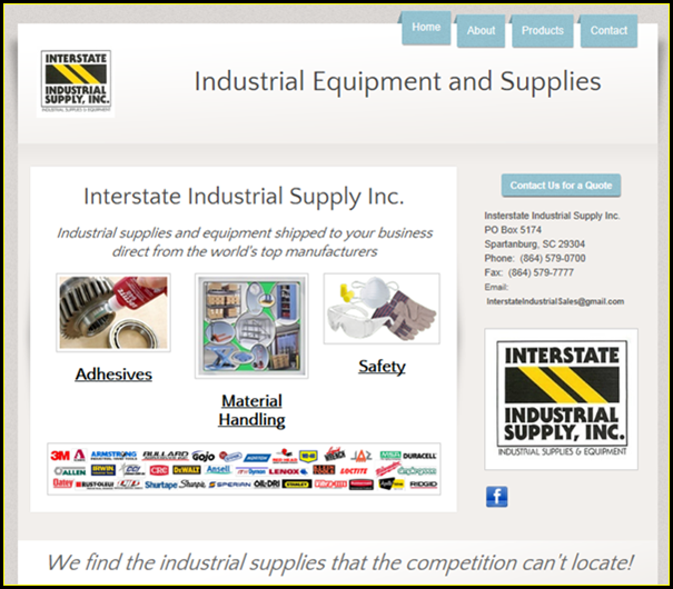 Interstate Industrial Supplies Inc