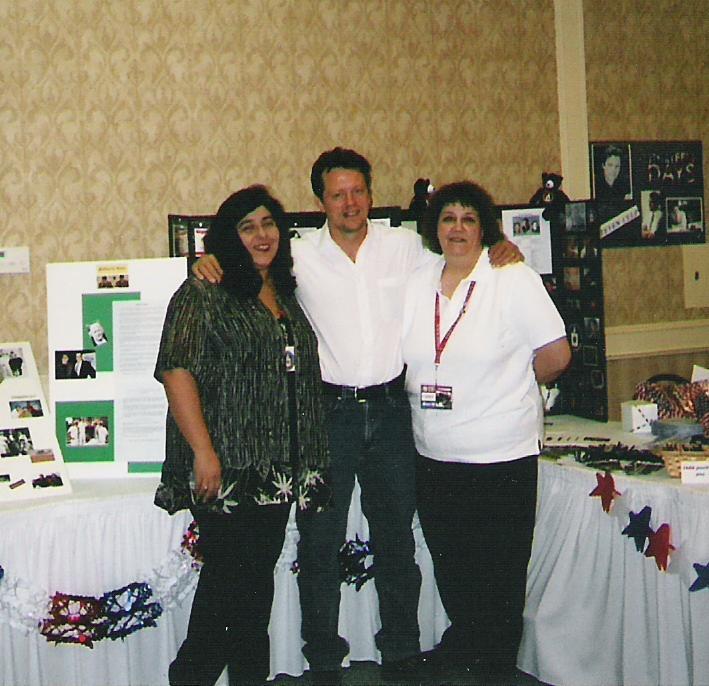Steven Culp and my best friend, 2002