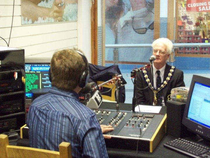Kenny interviews Mayor Jim McClurg
