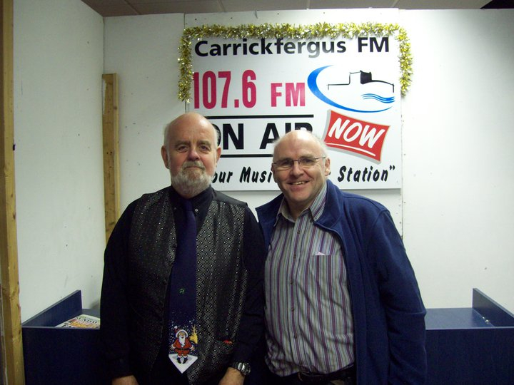 Donagh talks with Mervyn Dickson about the Christmas Tea Dance