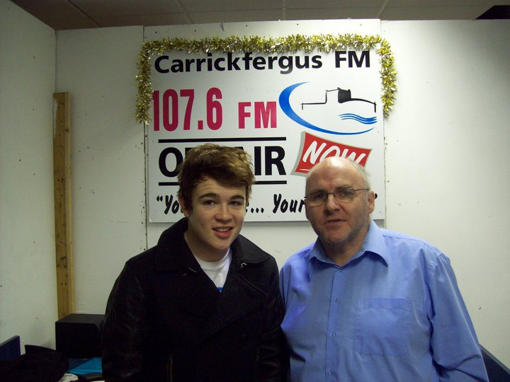 Donagh with Eoghan Quigg