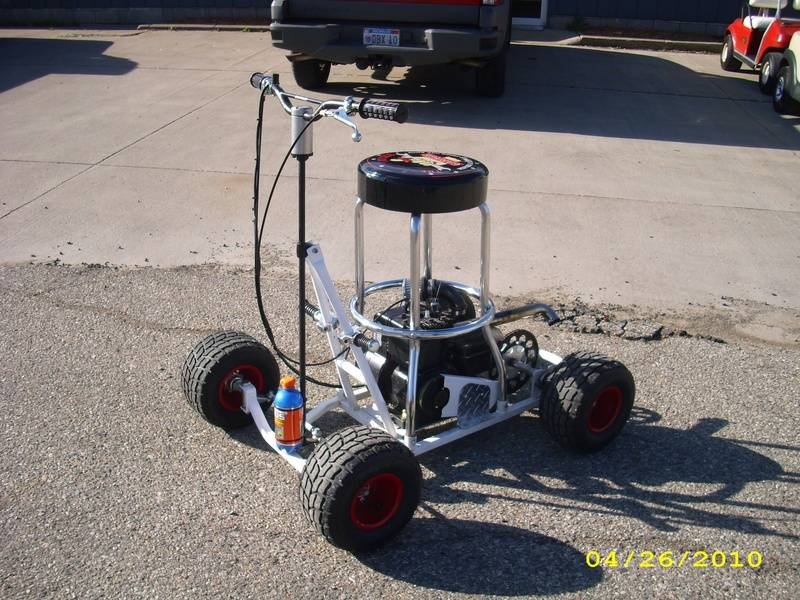 Barstool Racer, Very Fast!!! 29.7mph