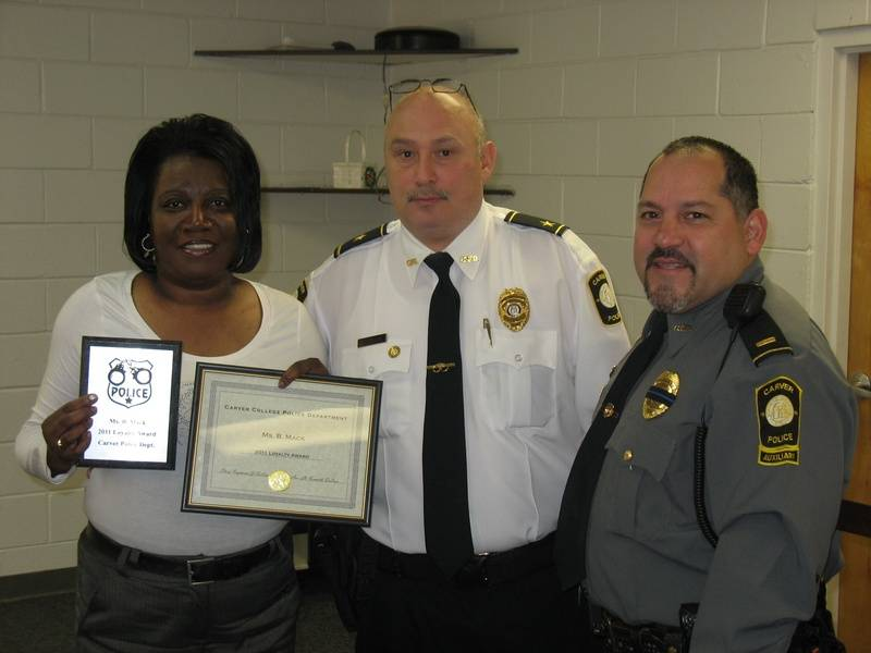 Ms. Mack - Loyalty Award