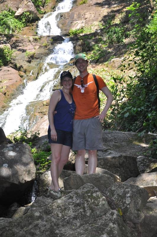 Richard and Krista at Antelope Falls