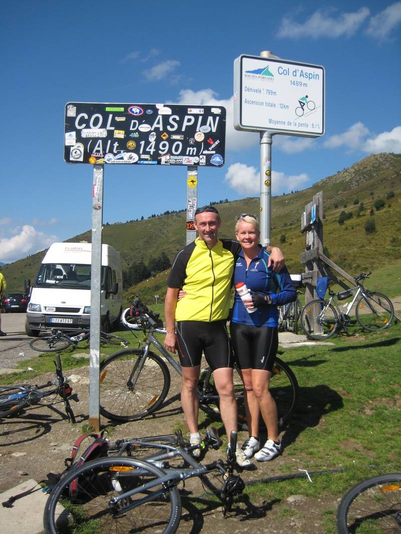 Summit of Col d'Aspin