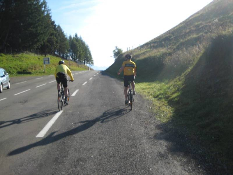 Approaching the summit of Col de Peyresourde