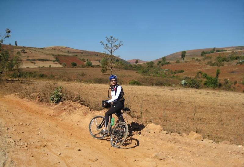 Cycling in The Shan Hills